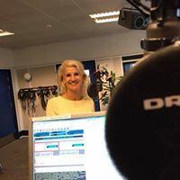 Liselotte Thygesen giver radio interview